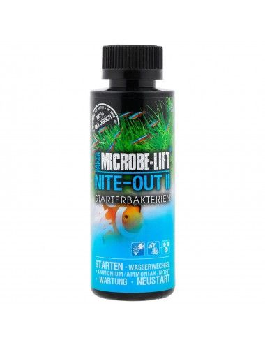 MICROBE-LIFT - Nite-Out II 118ml - Bactéries nitrifiantes pour aquarium