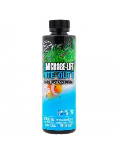 MICROBE-LIFT - Nite-Out II 236ml - Bactéries nitrifiantes pour aquarium