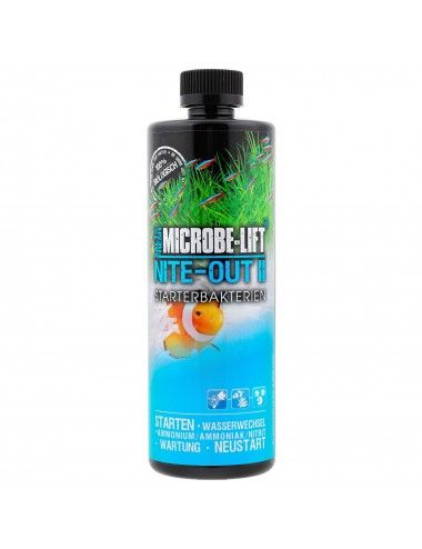 MICROBE-LIFT - Nite-Out II 473ml - Bactéries nitrifiantes pour aquarium