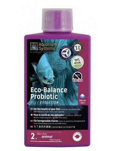 AQUARIUM SYSTEMS - Eco-Balance Probiotic Fresh - 250ml - Bactéries probiotic pour aquarium