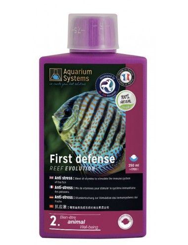AQUARIUM SYSTEMS - First Defense Fresh - 250ml - Stimulant pour poissons