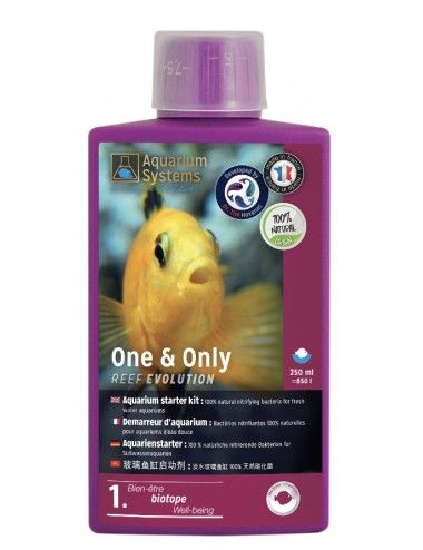 AQUARIUM SYSTEMS - One & Only Fresh - 250ml -  Bactéries nitrifiantes