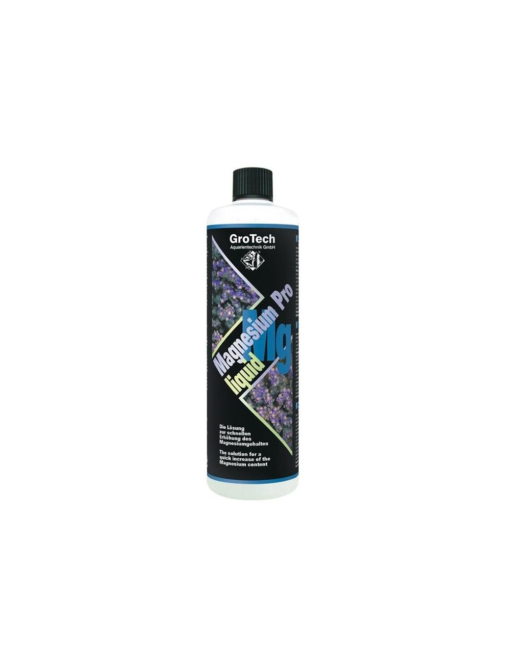 GROTECH - Magnesium Pro Liquid - 1000ml - Magnésium pour aquarium d'eau de mer