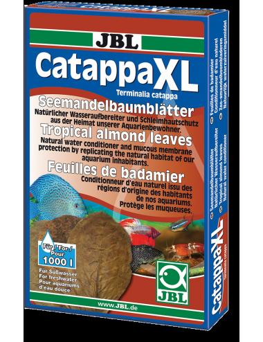 JBL - Catappa XL - 10 Feuilles de badamier pour aquariums d'eau douce
