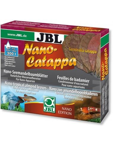 JBL - Nano-Catappa - 10 Feuilles de badamier pour petits aquariums d'eau douce