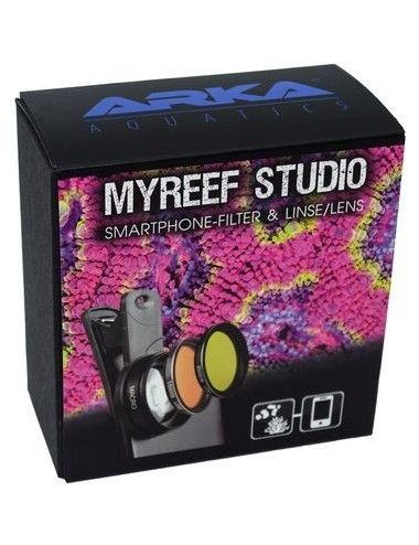 MICROBE-LIFT - myReef Studio - Filtres pour smartphone et objectif macro