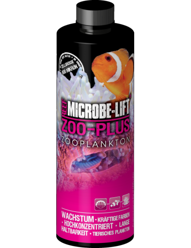 MICROBE-LIFT - Zoo-Plus - 473ml - Zooplancton pour coraux