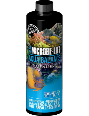 MICROBE-LIFT - Aqua Balance - 236ml - Dégradation des nitrates en aquarium