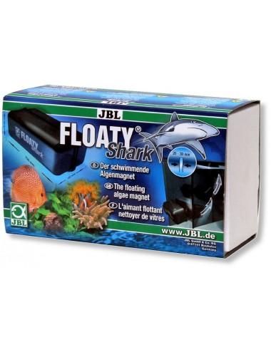 JBL - Floaty Shark - Aimant nettoyeur flottant pour vitres d'aquariums épaisses