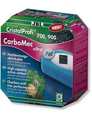JBL - CarboMec ultra Pad CristalProfi e pour filtres JBL e400-1-2 / e700-1-2 et e900-1-2