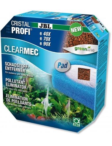 JBL - ClearMec plus Pad CristalProfi e pour filtres JBL e400-1-2 / e700-1-2 et e900-1-2