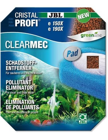 JBL - ClearMec plus Pad CristalProfi e pour filtres JBL e1500-1-2 et e1900-1-2