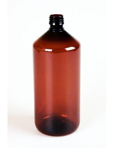 Bouteille 1 litre ambré pharma