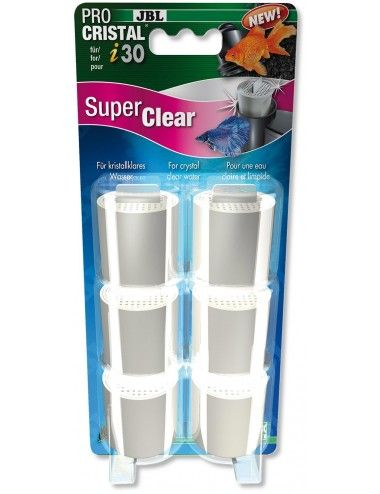 JBL - ProCristal i30 SuperClear x6 - Charbon hyperactif pour filtre JBL ProCristal i30