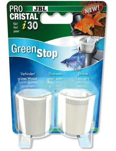 JBL - ProCristal i30 GreenStop x2 - Matériel de filtration spécial Eau verte pour filtre JBL ProCristal i30