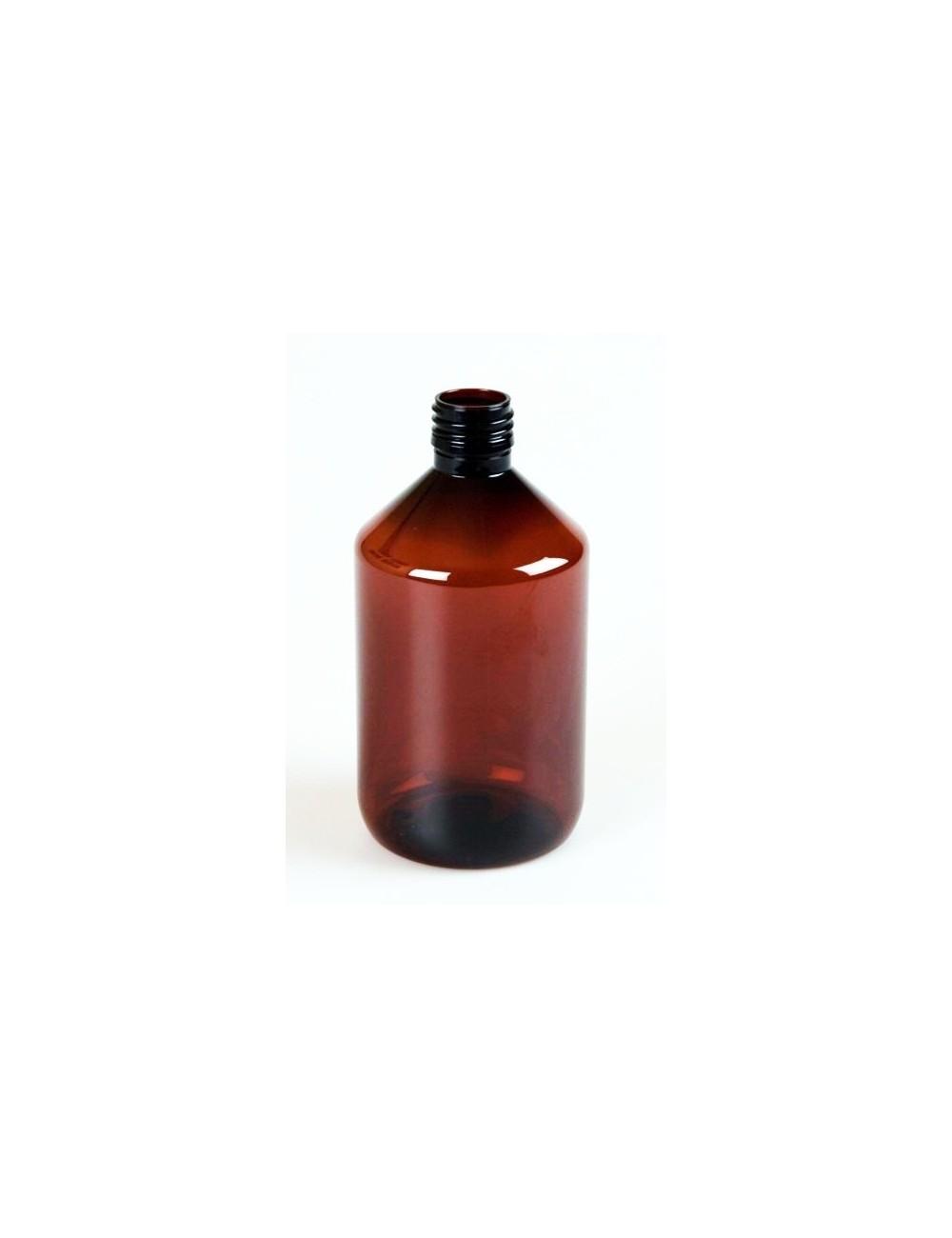 Bouteille de 500ml ambré pharma