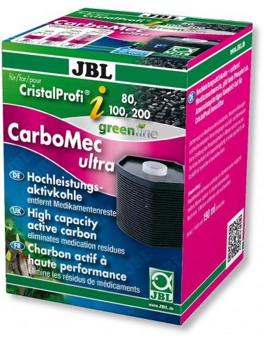 JBL - CarboMec ultra CristalProfi i60/80/100/200 - Cartouche charbon actif pour filtre JBL CristalProfi i