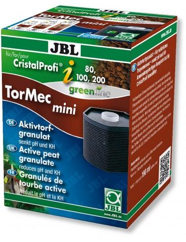 JBL - Tormec CristalProfi i60/80/100/200 - Cartouche de filtration avec granulés de tourbe pour JBL CristalProfi i