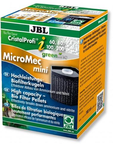 JBL - MicroMec CristalProfi i60/80/100/200 - Cartouche de filtration avec billes de filtration pour JBL CristalProfi i