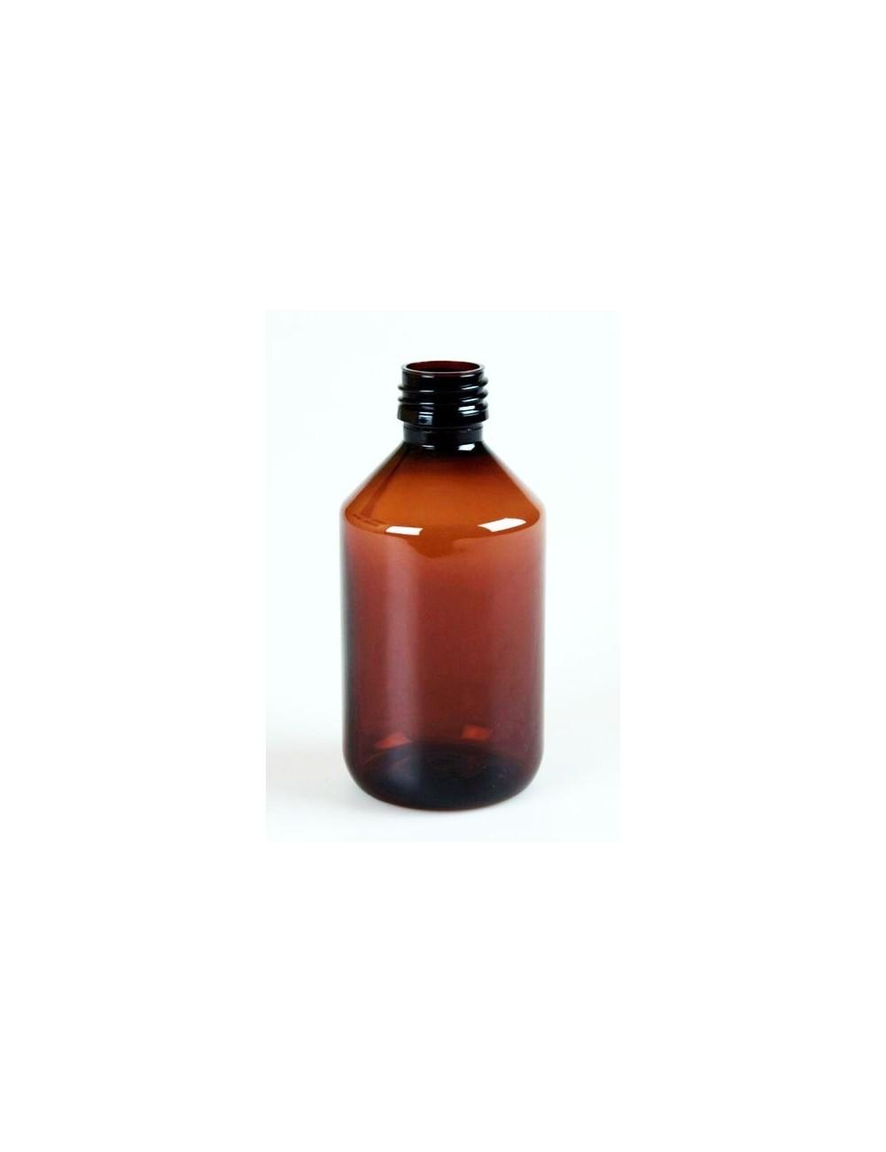 Bouteille de 250ml ambré pharma