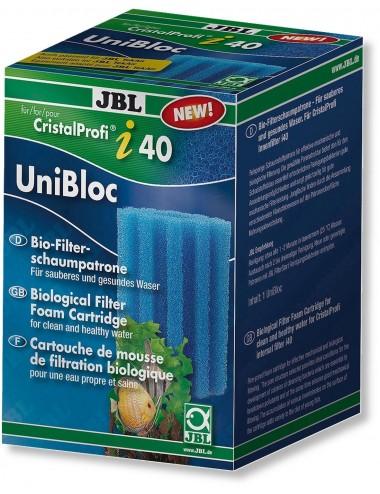JBL - UniBloc CristalProfi pour filtre CristalProfi i40/TekAir - bleu, grossier