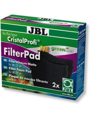 JBL - FilterPad - Mousse de rechange pour filtre CristalProfi m