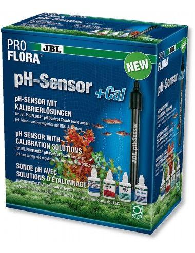 JBL - Proflora pH-Sensor + Cal - Électrode de pH avec connexion BNC
