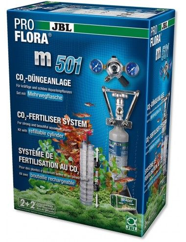 JBL - ProFlora m501 - Système complet de fertilisation au CO2 des plantes aquatiques
