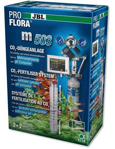 JBL - ProFlora m503 - Système complet de fertilisation au CO2 des plantes aquatiques