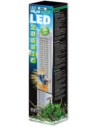 JBL - LED SOLAR Natur 24w - Rampe LED pour aquariums d'eau douce