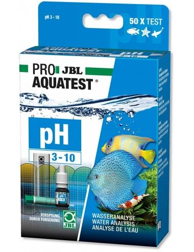 JBL - ProAquaTest pH 3.10-10.0 - Analyse du pH en aquarium