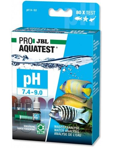 JBL - ProAquaTest pH 7.4-9.0 - Analyse du pH en aquarium