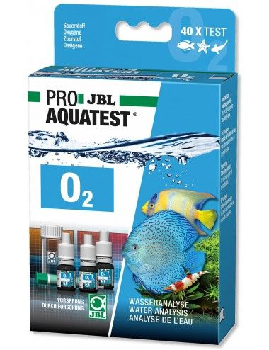 JBL - ProAquaTest O2 - Test de la teneur en oxygène de l'eau