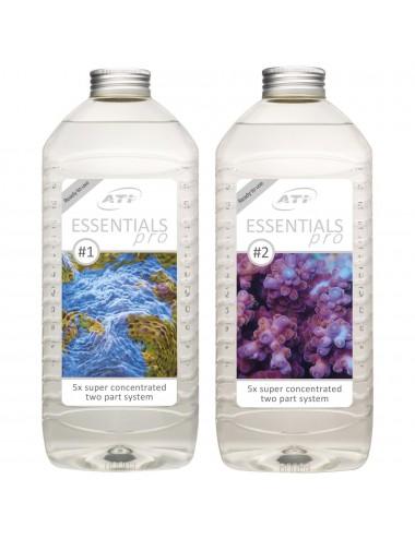 ATI - Essentials Pro - 2 x 2L - Calcium, Kh, magnésium et oligo-éléments pour aquarium