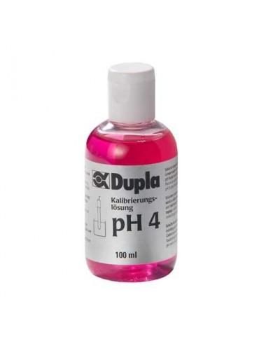DUPLA - Solution d'étalonnage pH 4 - 100 ml