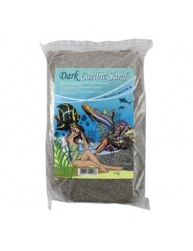 PREIS - Dark Caribic Sand - 3kg - Sable foncé pour aquarium marin