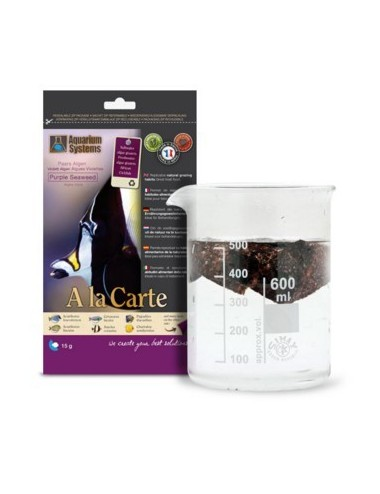 AQUARIUM SYSTEM - Nourriture A la carte Purple Seaweed 15g