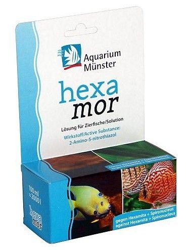 Aquarium Munster - Hexamor - 20ml - Traitement pour poissons