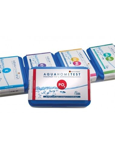 FAUNA MARIN - AquaHomeTest PO4 - Test phosphate pour aquarium marin