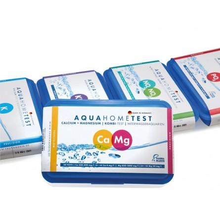 FAUNA MARIN - AquaHomeTest Ca + Mg - Test calcium et magnésium pour aquarium marin
