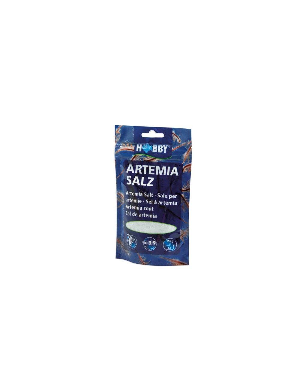 HOBBY - Artemia Salz - 160g - Sel spécial pour l'élevage d'artemias