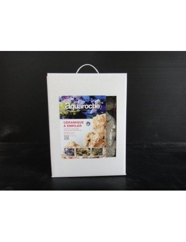 AQUAROCHE - Roches en céramique à empiler - 17 kilos
