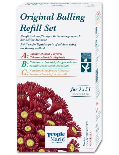 TROPIC MARIN - Original Balling Recharge - 3 x 5l - Recharge pour balling Tropic Marin