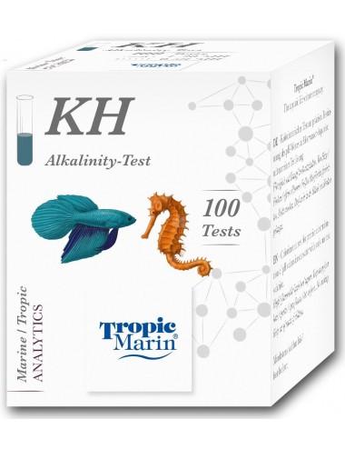 TROPIC MARIN - Test KH - Analyse de la dureté carbonatée de l'eau de mer