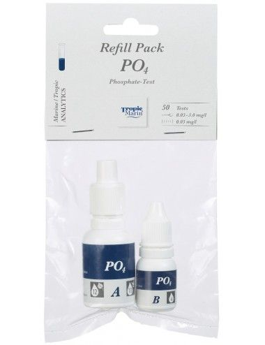 TROPIC MARIN - Recharge Réactifs pour Test PO4