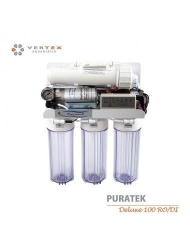 VERTEX - Puratek Deluxe 100 GPD RO/DI - Osmoseur haut de gamme 375 l / jour