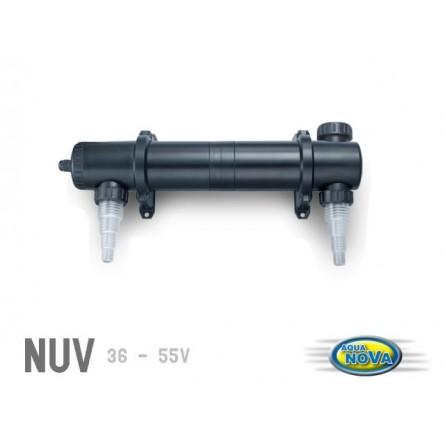 aqua nova uv steriliser 55 watts filtre uv pour aquarium et bassin