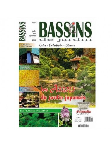 ANIMALIA EDITIONS - Bassins de jardin N°31