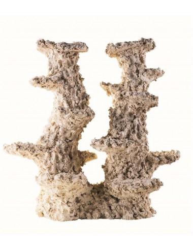 ARKA - Reef Column 2 branches - 30cm - Roche en céramique