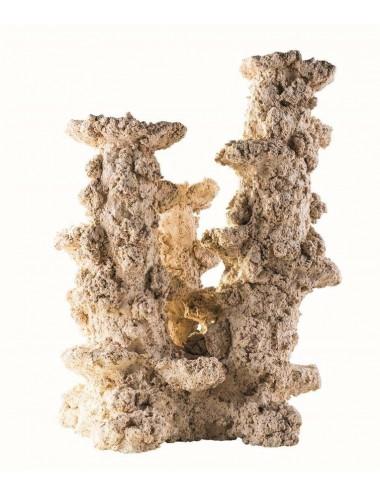 ARKA - Reef Column 3 branches - 30cm - Roche en céramique